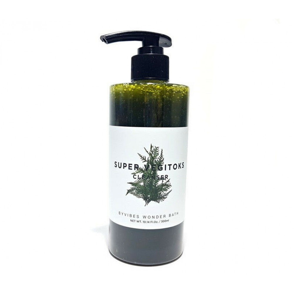 Wonder Bath Chosungah By vibes Wonder Bath Super Vegitoks Cleanser Green Универсальное детокс очищение для лица