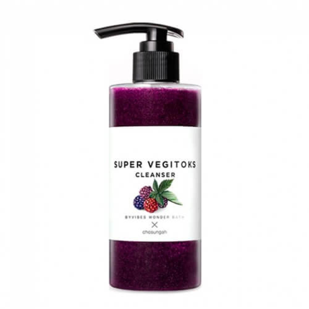 Wonder Bath Chosungah By Vibes Wonder Bath Super Vegitoks Cleanser Purple Детокс очищение для упругости кожи