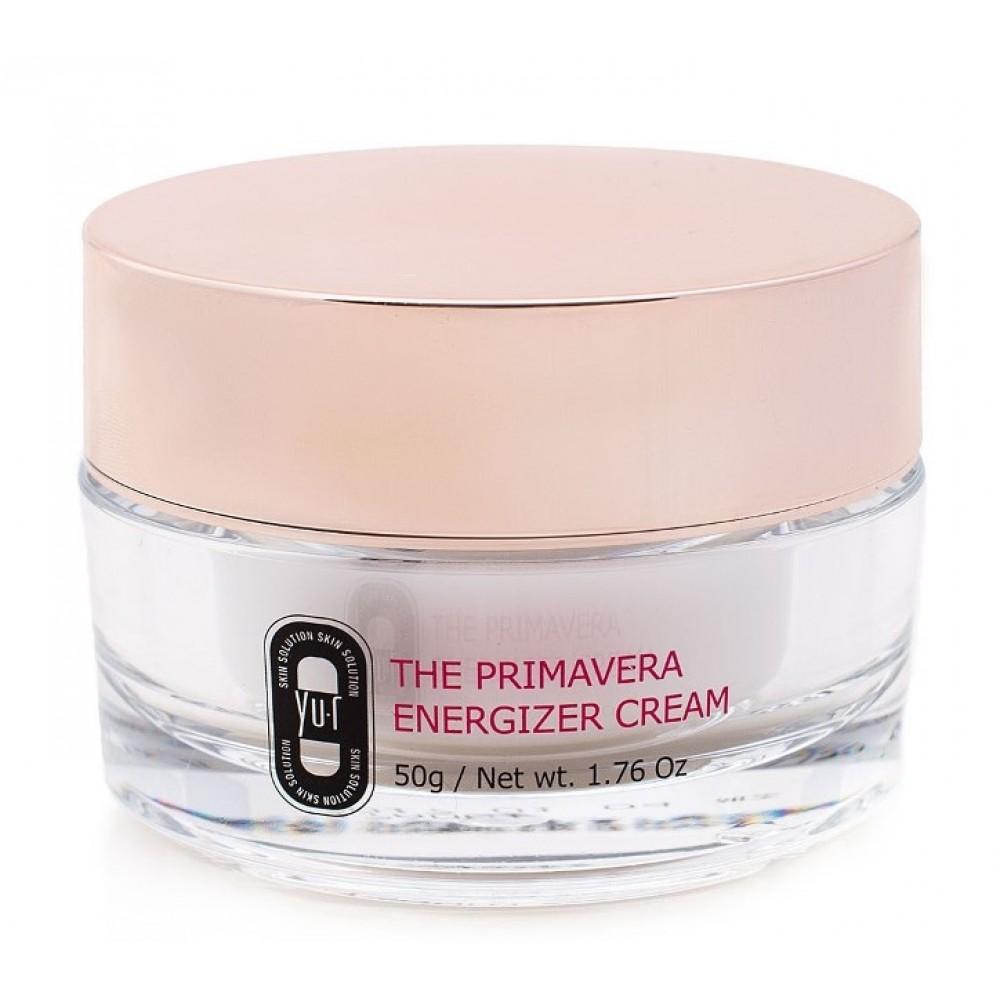 Yu.r The PrimaVera Energizer Cream Мультиактивный крем для лица с витаминным и пептидным комплексами