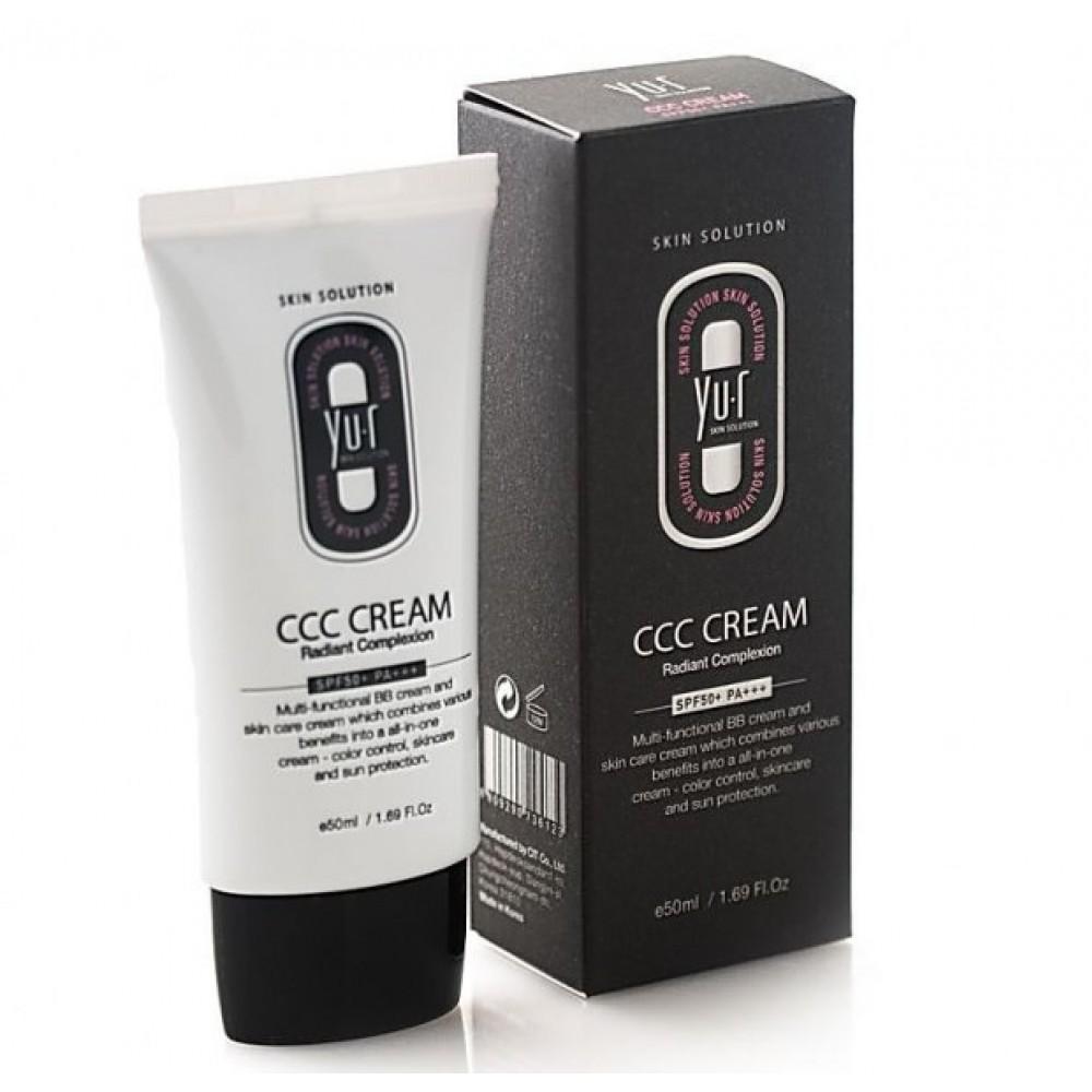 Yu.r CCC Cream Radiant Complexion SPF50+ LIGHT Многофункциональное тональное средство – светлый тон