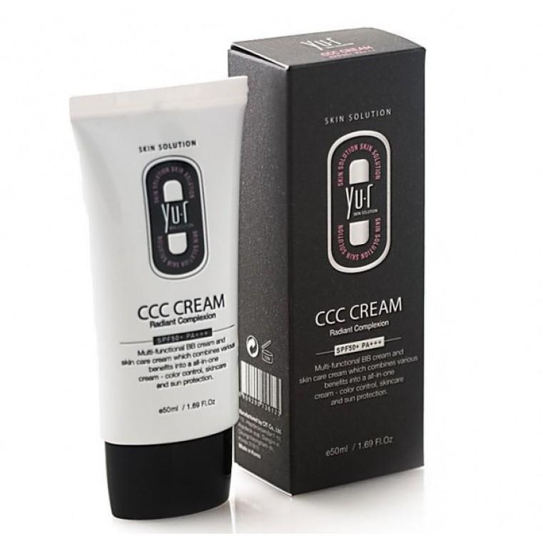Yu.r CCC Cream Radiant Complexion SPF50+ Многофункциональное тональное средство