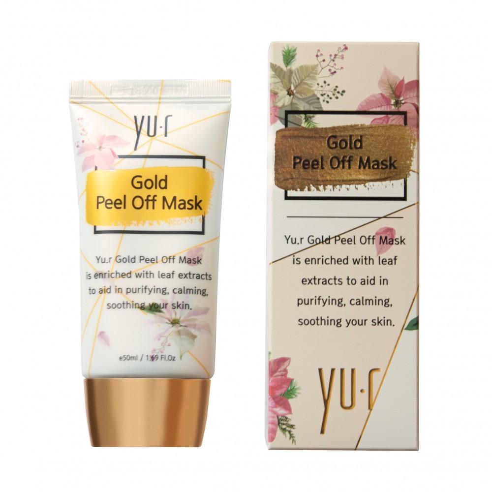 Yu.r Gold Peel Off Mask Золотая маска-пленка