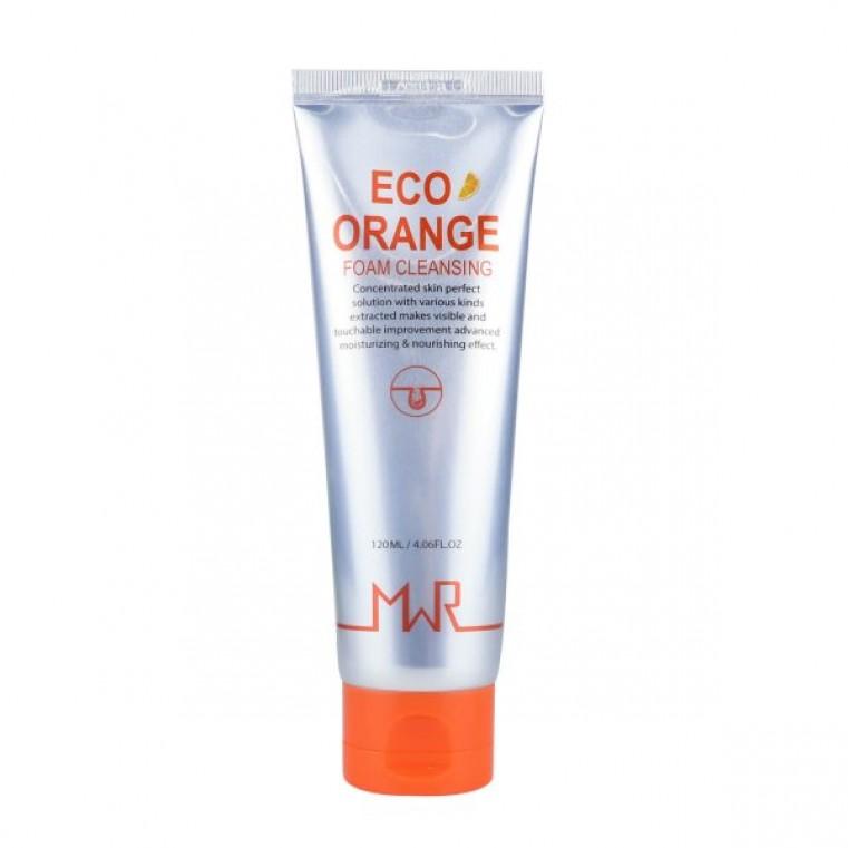 MWR Eco Orange Foam Cleansing Пенка для умывания с апельсином