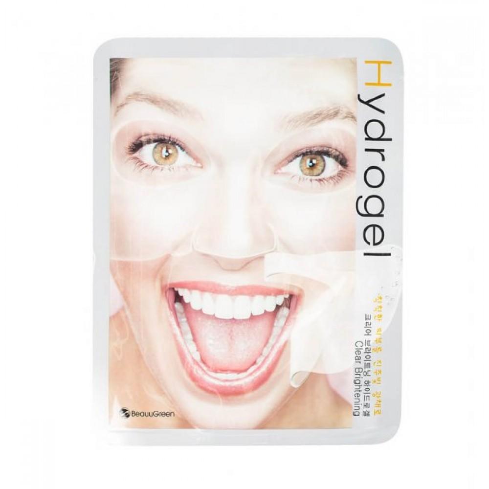 Beauugreen Hydrogel Mask (Brightening) Осветляющая гидрогелевая маска для сияния кожи
