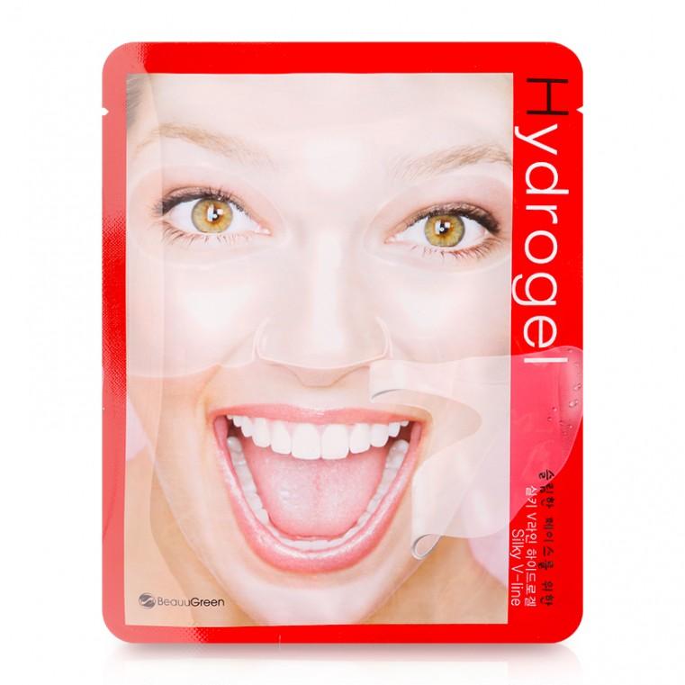 BeauuGreen Silky V-line Hydrogel Mask Маска гидрогелевая для V зоны (овала лица)