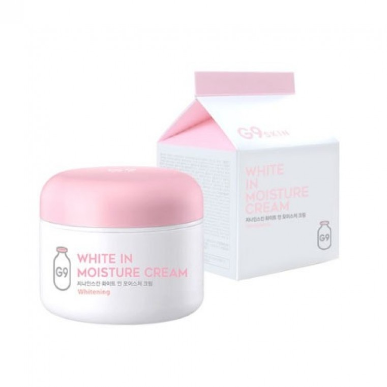 G9 Skin White In Milk Capsule Eye Cream Крем для кожи вокруг глаз с молочными протеинами осветляющий