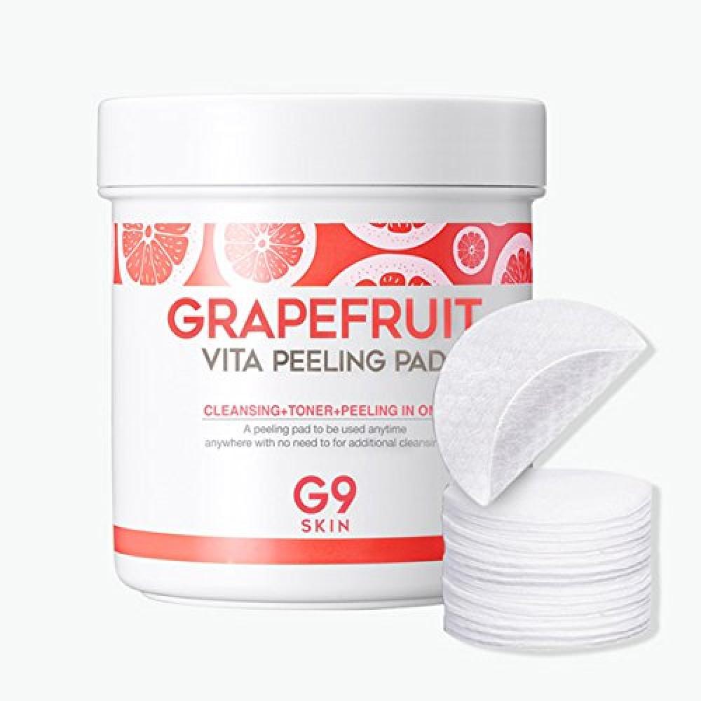G9 Skin Grapefruit Vita Peeling Pad Диски ватные с экстрактом грейпфрута для пилинга