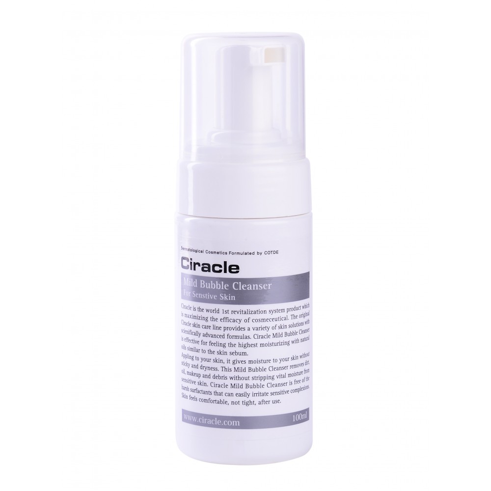 Ciracle Mild Bubble Cleanser For Sensetive Skin Пенка для чувствительной кожи