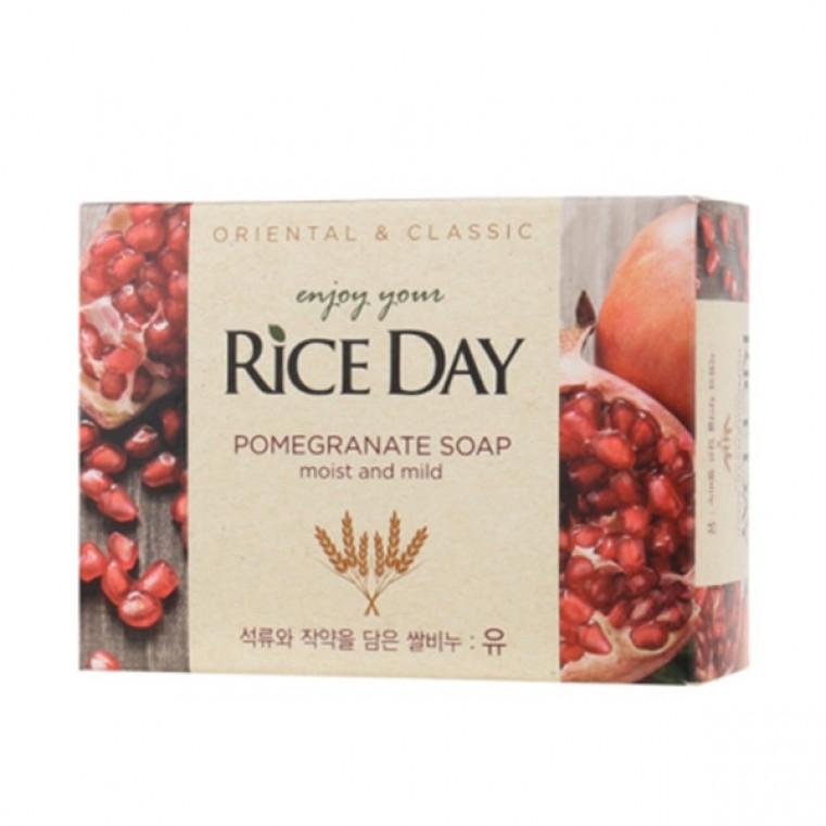 CJ Lion Rice Day Pomegranate Soap Мыло туалетное экстракт граната и пиона