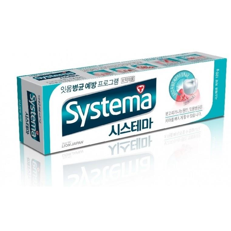 CJ LION Dentor Systema Зубная паста  для ежедневного ухода за полостью рта со вкусом ледяной мяты