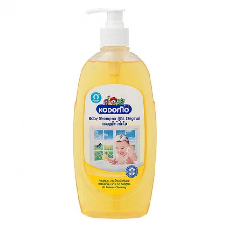 Lion Kodomo Baby Shampoo Original Natural Moisturizer Детский шампунь с увлажняющим кремом