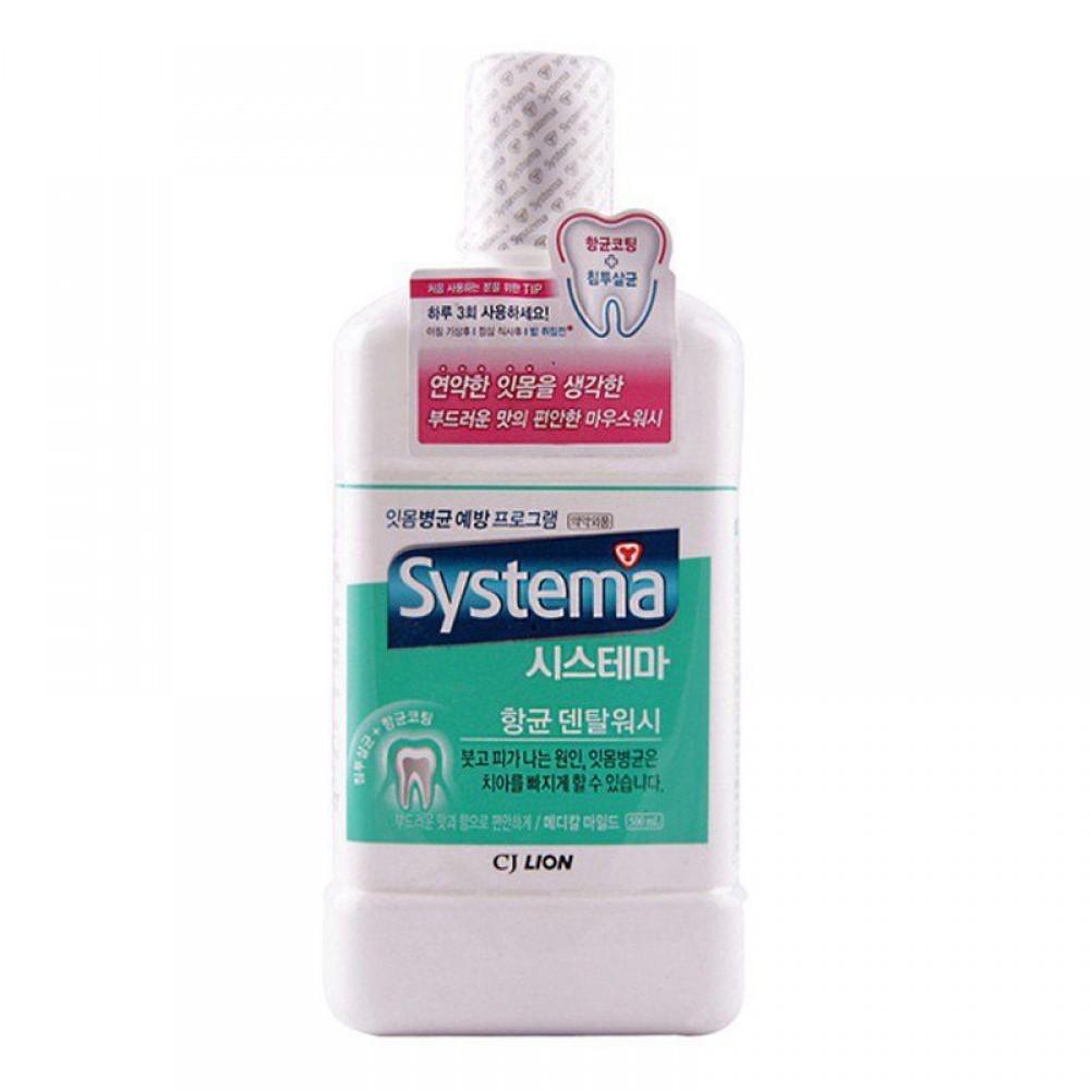 CJ LION Dentor Systema Ополаскиватель для рта Мягкая свежесть
