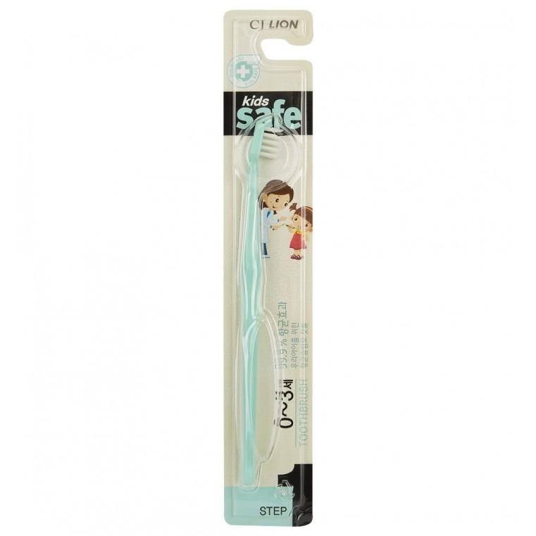 Kids Safe с нано-серебряным покрытием №1 (от 0 до 3 лет) Зубная щетка детская