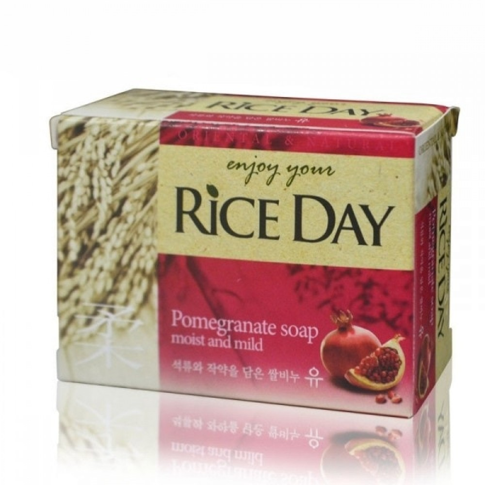 Rice Day Pomegranate Мыло туалетное экстракт граната и пиона