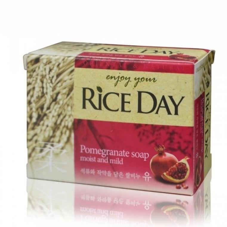 Rice Day Pomegranate Мыло туалетное экстракт граната и пиона