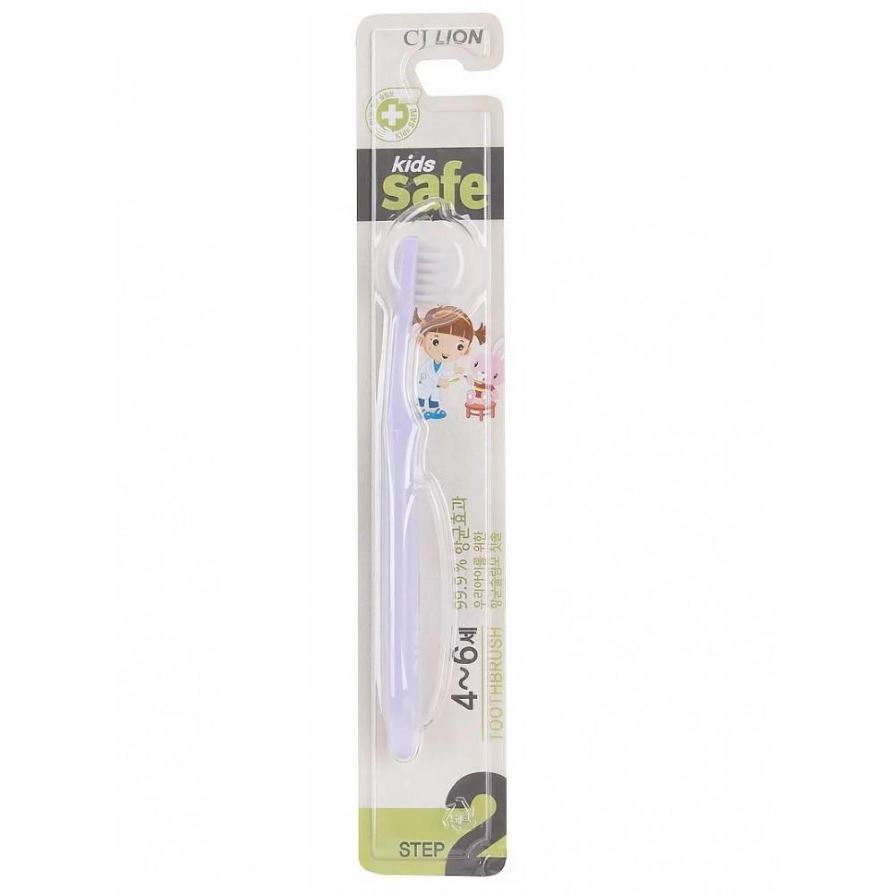 Kids Safe с нано-серебряным покрытием №2 (от 4 до 6 лет) Зубная щетка детская