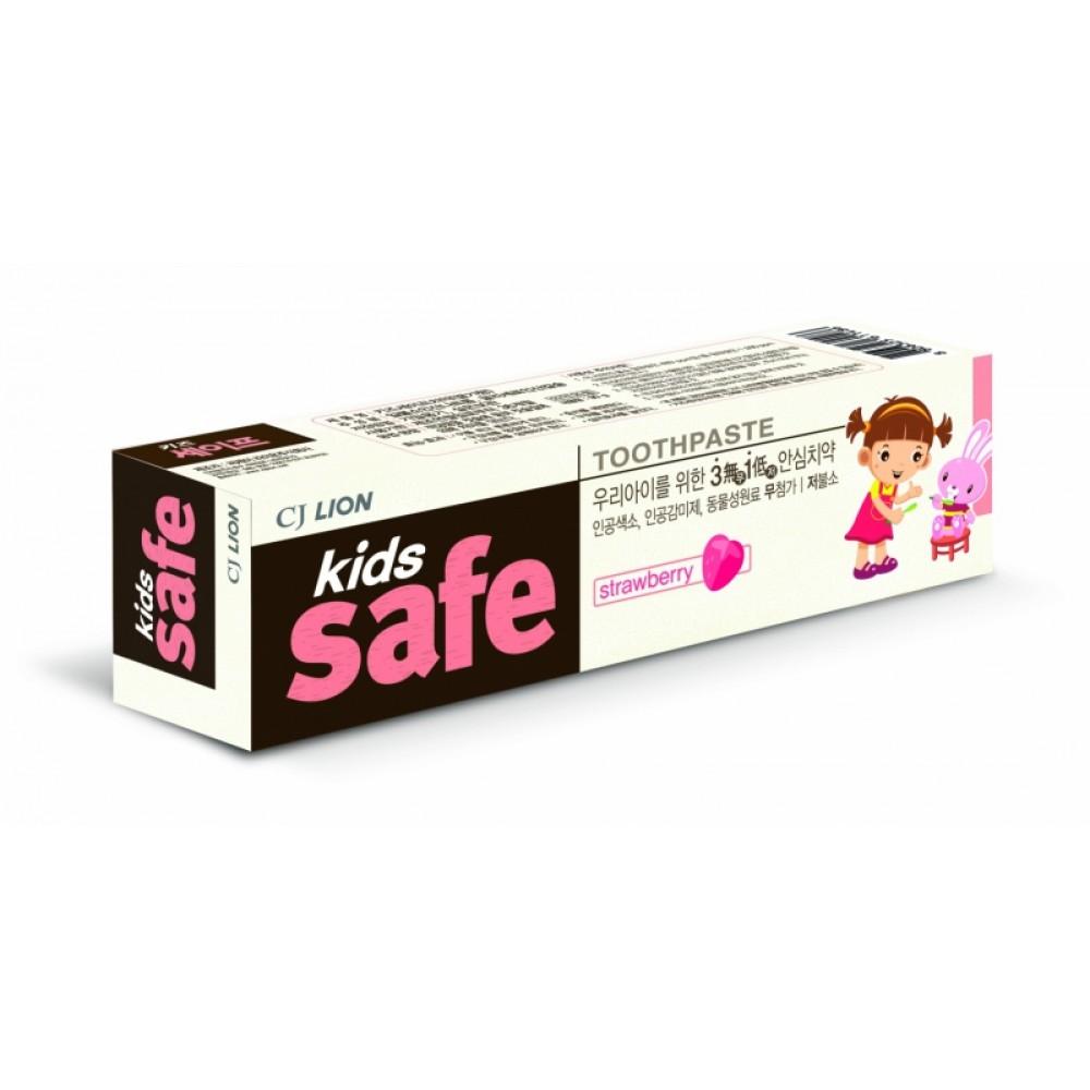 Kids Safe Toothpaste Strawberry Детская зубная паста Клубника