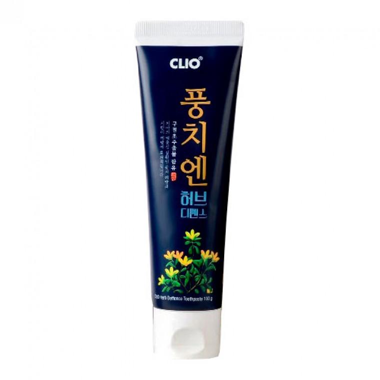 CLIO Herb Deffence Style Toothpaste Зубная паста с вытяжкой из хризантемы сибирской
