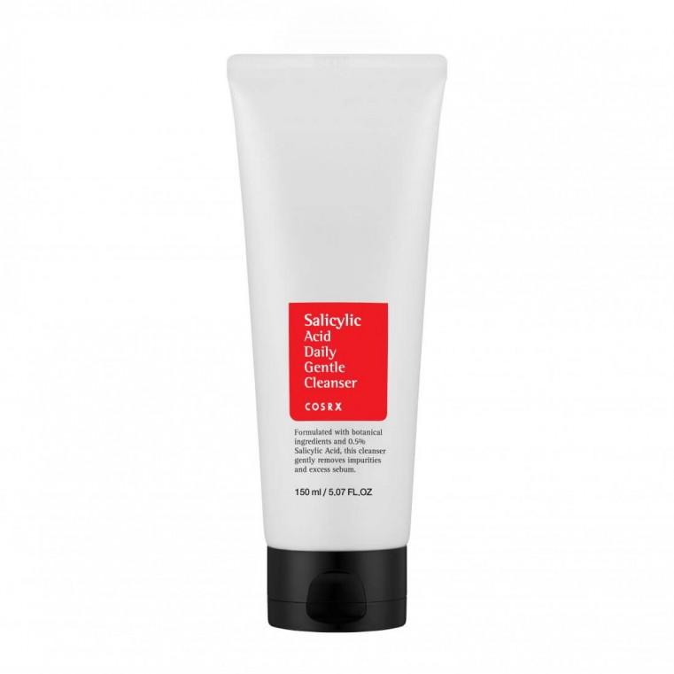COSRX Salycylic Acid Dayly Gentle Cleanser Пенка для умывания с салициловой кислотой для проблемной кожи