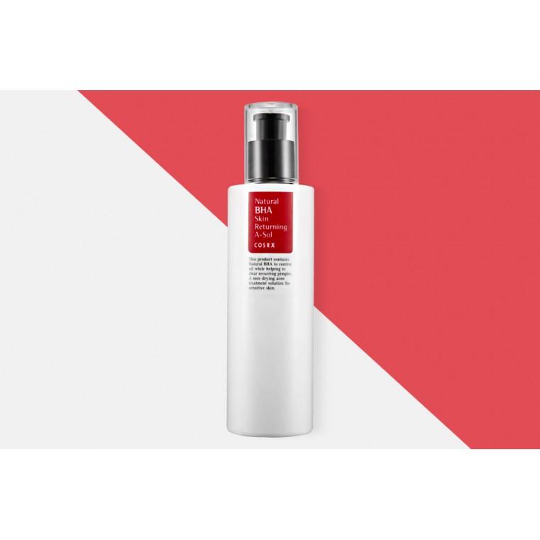COSRX Natural BHA Skin Returning A-Sol Тонер для проблемной кожи с BHA-кислотой