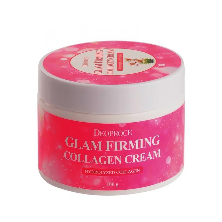 DEOPROCE Moisture Glam Firming Collagen Cream Увлажняющий подтягивающий крем с коллагеном