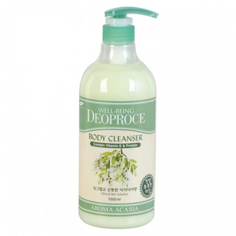 Deoproce Well-Being Aroma Body Cleanser ACACIA Гель для душа - Акация