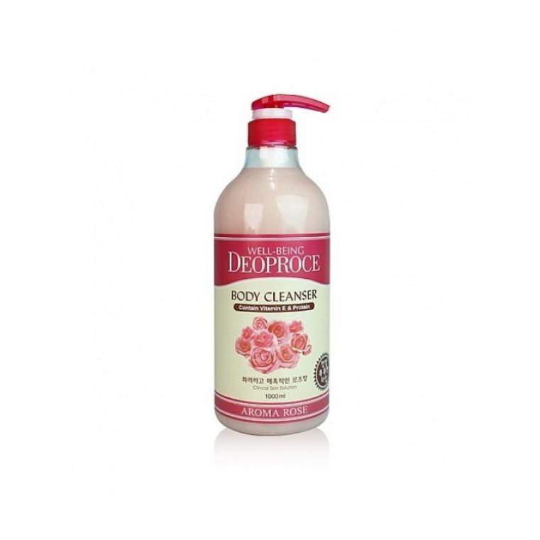 Deoproce Well-Being Deoproce aroma body cleanser ROSE Гель для душа с экстрактом розы