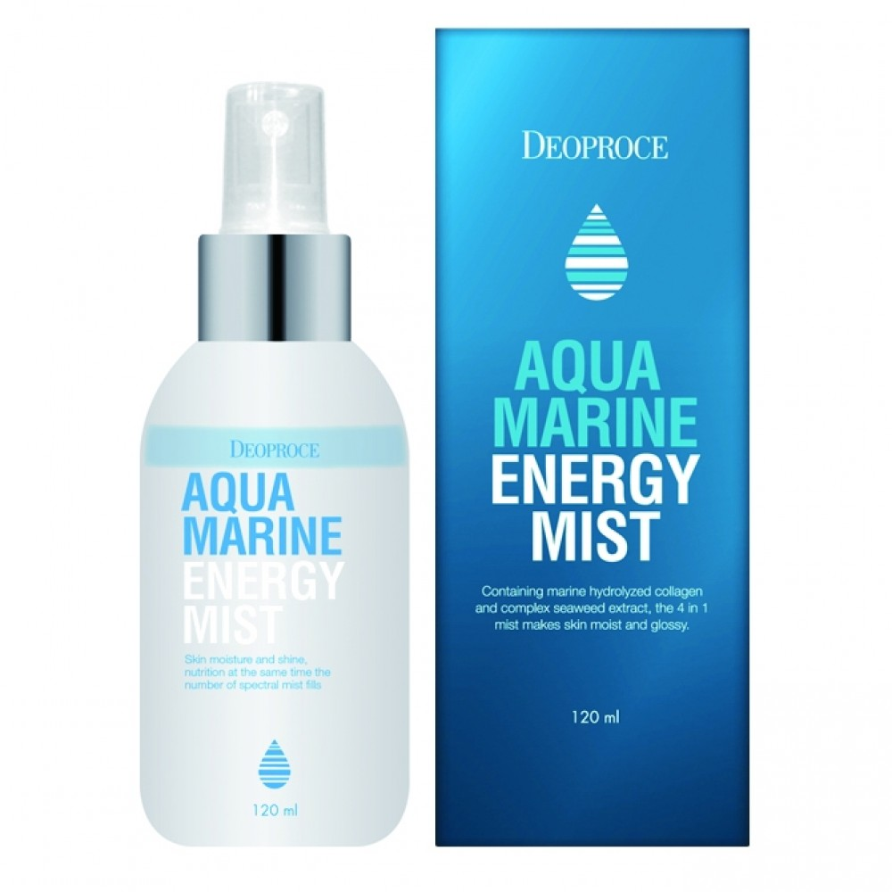 Deoproce Aqua Marine Energy Mist Мист энергетический с морским коллагеном и водорослями