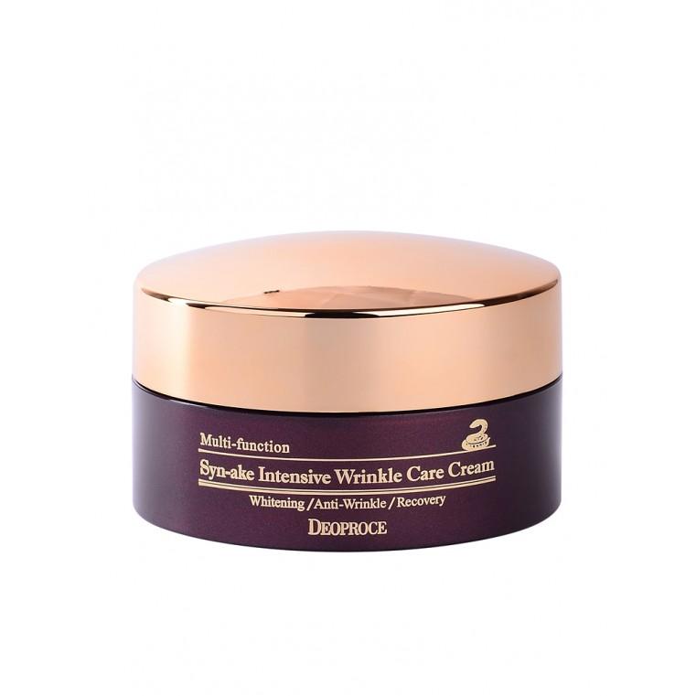 Deoproce Syn-Ake Intensive Wrinkle Care Cream Крем для лица со змеиным ядом