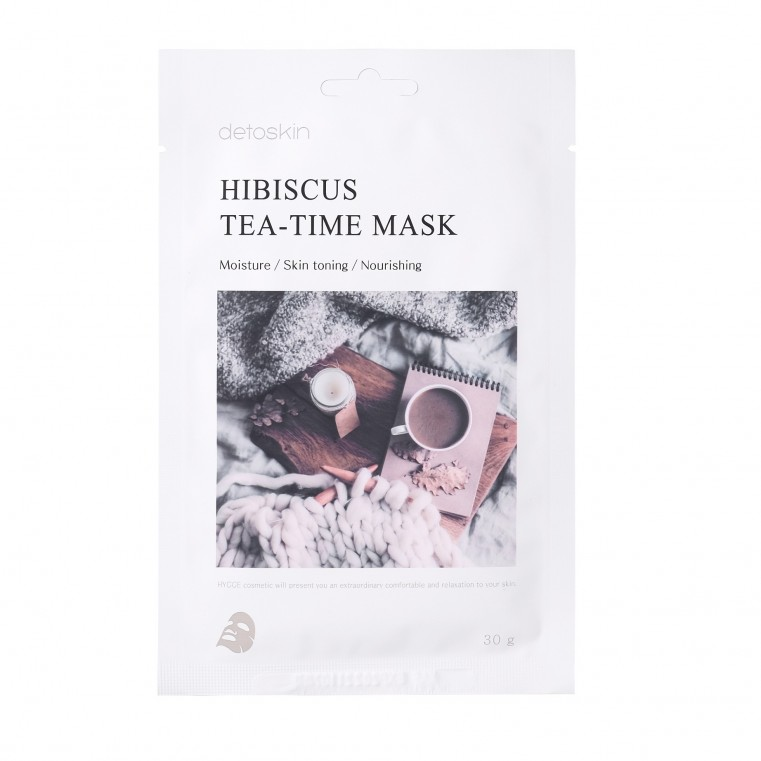 detoskin Hibiscus Tea-Time Mask Тканевая маска с гибискусом