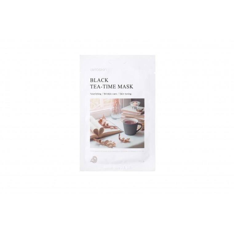 detoskin Black Tea-Time Mask Тканевая маска с экстрактом черного чая