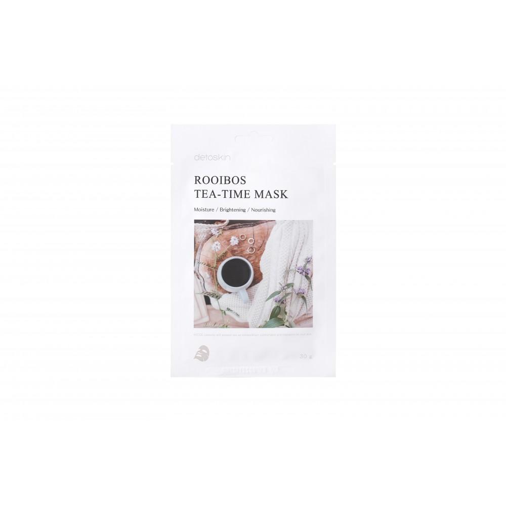 detoskin Rooibos Tea-Time Mask Тканевая маска с экстрактом чая ройбос