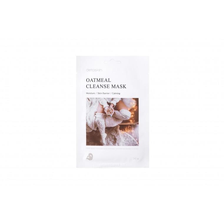 detoskin Oatmeal Cleanse Mask Тканевая маска очищающая на основе овсянки
