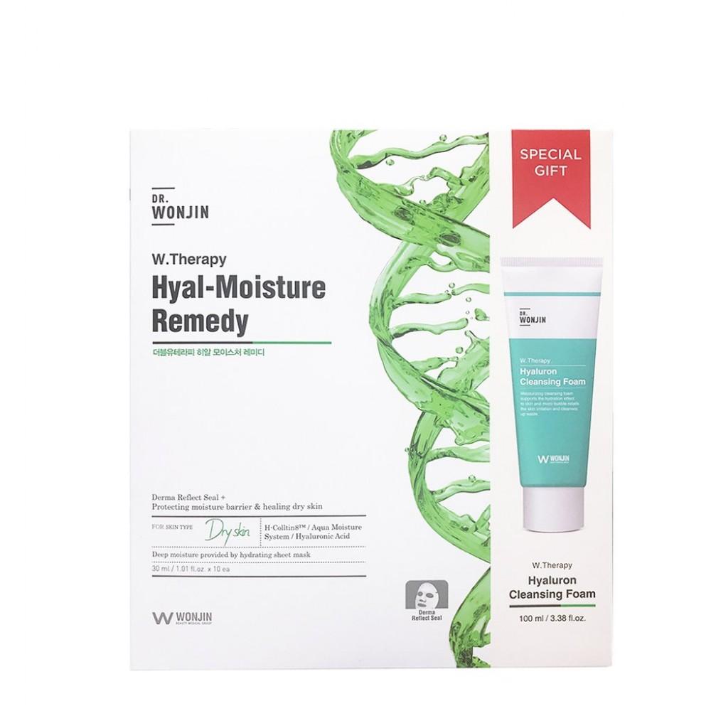 dr.WONJIN W.Therapy Hyal-Moisture Remedy Mask Тканевая маска с увлажняющим комплексом