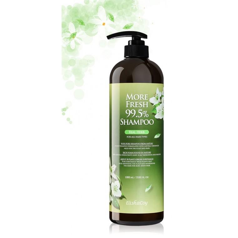 Elishacoy More Fresh 99.5% [Real Herb] Шампунь натуральный