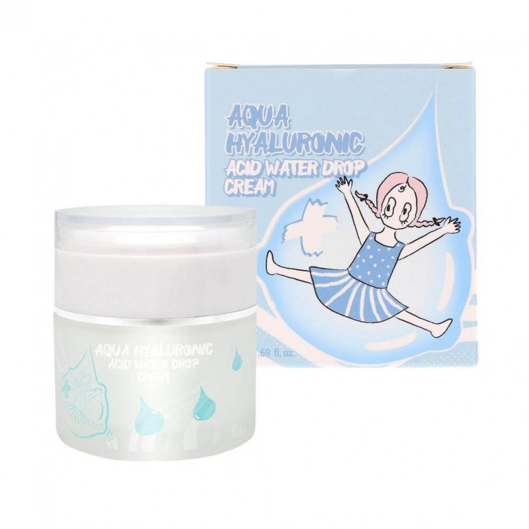 Elizavecca Aqua Hyaluronic Acid Water Drop Cream Увлажняющий гиалуроновый крем