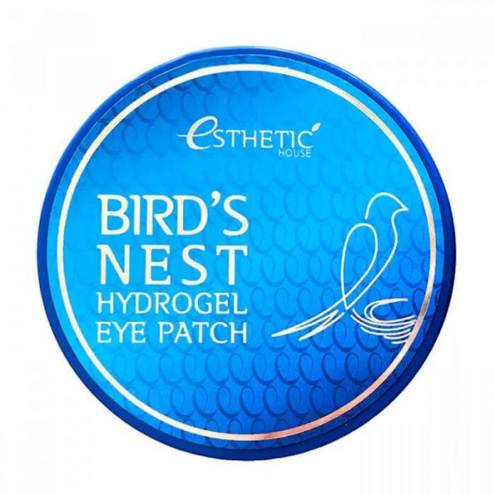 Bird's Nest Hydrogel Eye Patch Патчи гидрогелевые с экстрактом ласточкиного гнезда