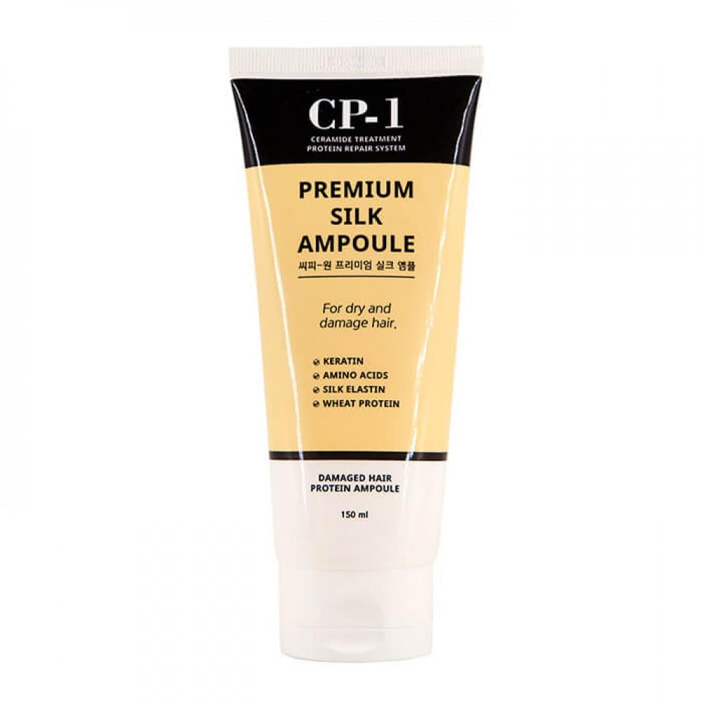 ESTHETIC HOUSE CP-1 Premium Silk Ampoule Сыворотка для волос с протеинами шёлка несмываемая, 150ml