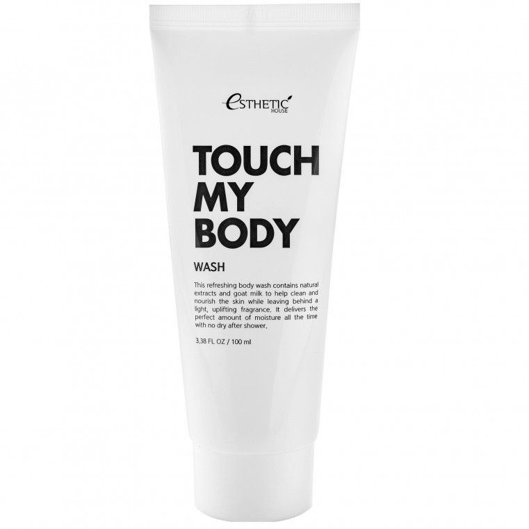 Touch My Body Goat Milk Body Wash Гель для душа с козьим молоком увлажняющий