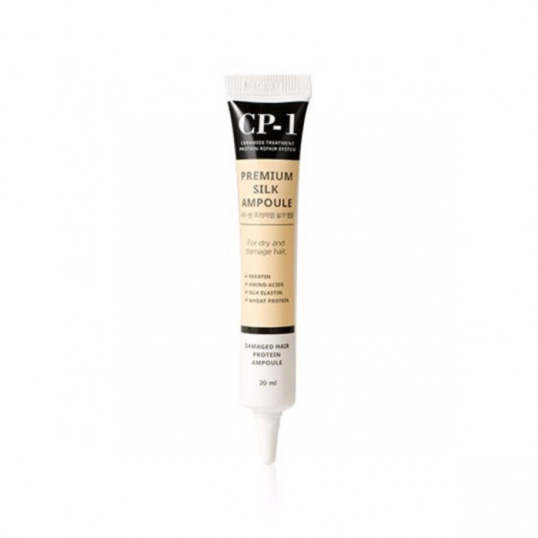 ESTHETIC HOUSE CP-1 Premium Silk Ampoule Сыворотка для волос с протеинами шёлка несмываемая