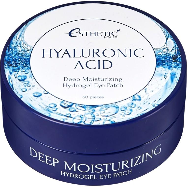 Esthetic House Hyaluronic Acid Hydrogel Eye Patch Увлажняющие гидрогелевые патчи для век с гиалуроновой кислотой