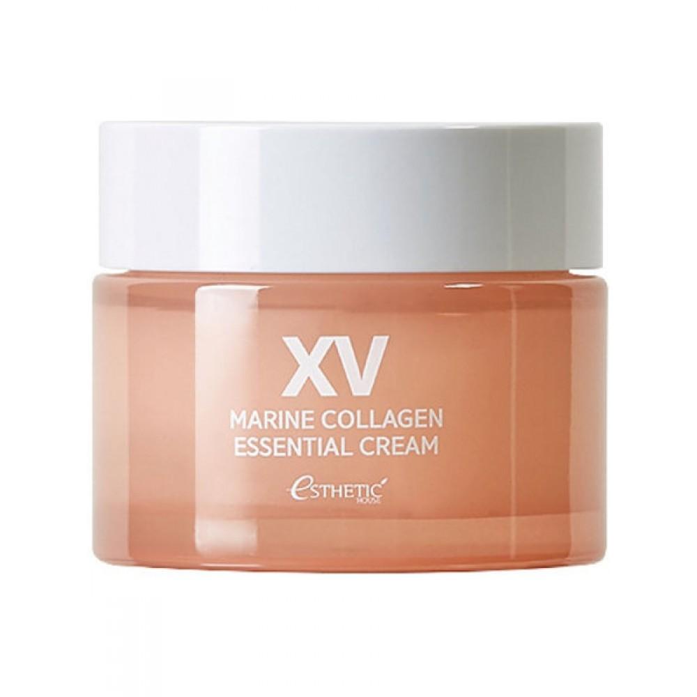 ESTHETIC HOUSE Marine Collagen Essential Cream Крем с морским коллагеном и морскими водорослями