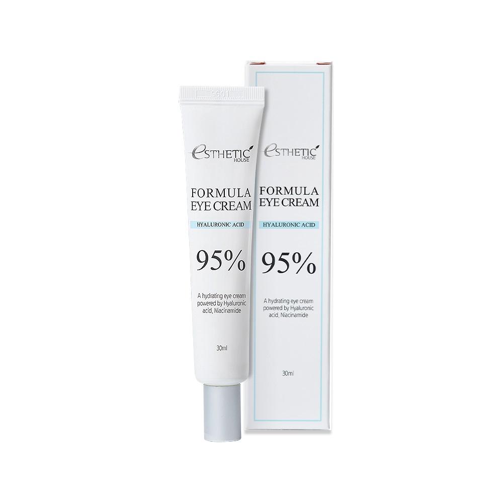 ESTHETIC HOUSE Formula Eye Cream Hyaluronic Acid 95% Увлажняющий крем для кожи вокруг глаз с гиалуроновой кислотой и ниацинамидом