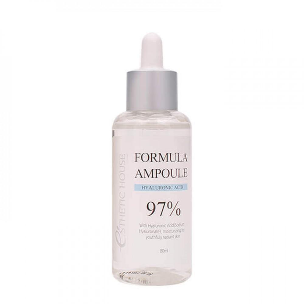 Esthetic House Formula Ampoule Hyaluronic Acid Увлажняющая сыворотка с гиалуроновой кислотой