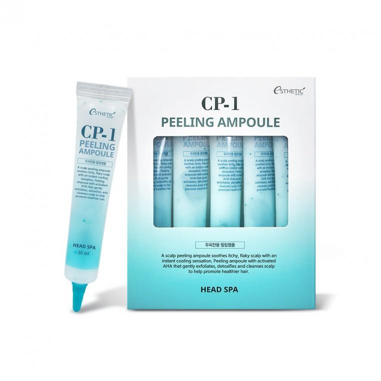 Esthetic House CP-1 Peeling Ampoule Пилинг-сыворотка для кожи головы глубокое очищение 1шт