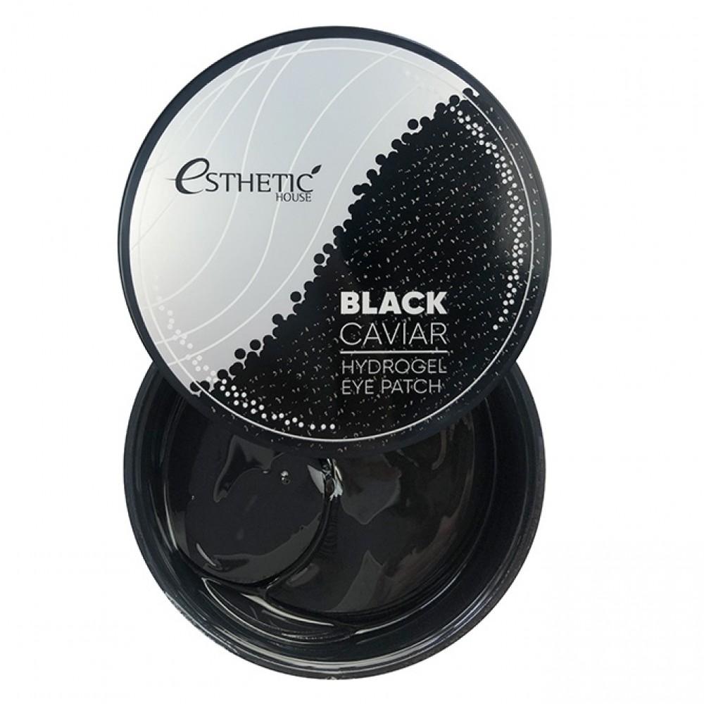 ESTHETIC HOUSE Black Caviar Hydrogel Eye Patch Гидрогелевые патчи для глаз с экстрактом черной икры