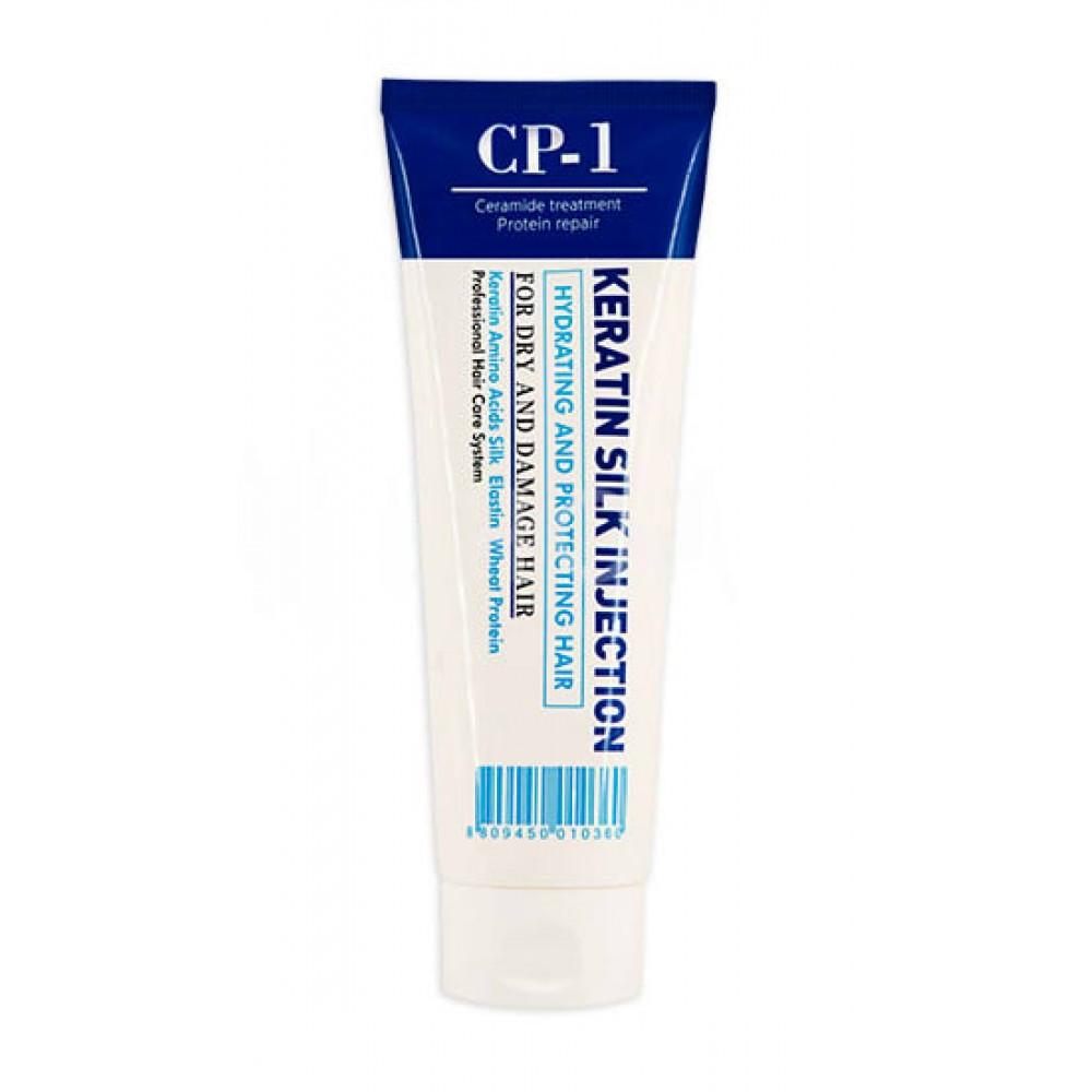 Esthetic House CP-1 Keratin Silk Injection Сыворотка для волос несмываемая кератиновая