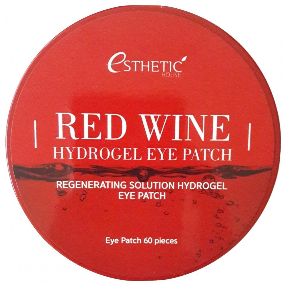 ESTHETIC HOUSE Red Wine Hydrogel Eye Patch Патчи гидрогелевые с экстрактом красного вина