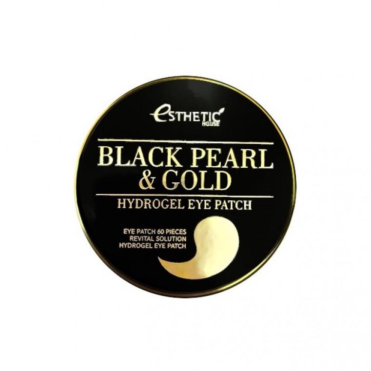 Black Pearl & Gold Hydrogel Eye Patch Патчи гидрогелевые с жемчугом и золотом