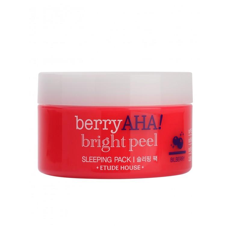 Berry AHA Bright Peel Sleeping Pack Ночная маска с эффектом пилинга для сияния кожи
